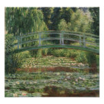 Claude Monet - The Japanese Footbridge Photo Print