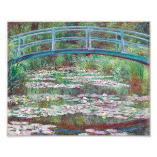 Claude Monet The Japanese Footbridge Photo Print