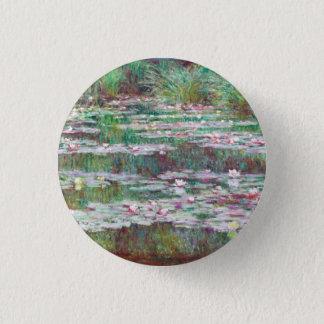 Claude Monet The Japanese Footbridge Pinback Button