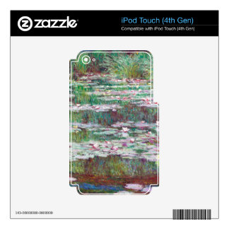 Claude Monet The Japanese Footbridge iPod Touch 4G Skins