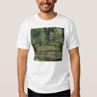 Claude Monet - The Japanese Footbridge T-shirt