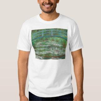 Claude Monet The Japanese Footbridge T-shirt