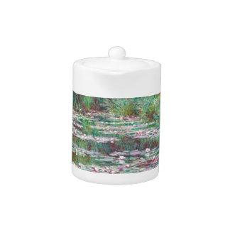 Claude Monet The Japanese Footbridge Teapot