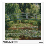 Claude Monet - The Japanese Footbridge Wall Sticker