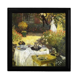 Claude Monet: The Lunch zazzle_giftbox