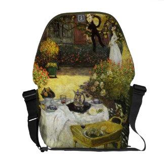 Claude Monet: The Lunch Messenger Bag