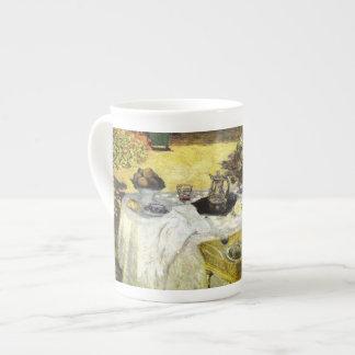 Claude Monet: The Lunch Tea Cup
