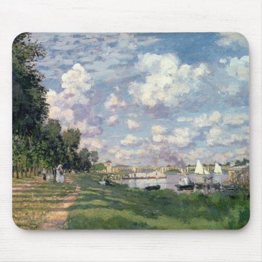 Claude Monet | The Marina at Argenteuil, 1872 Mouse Pad