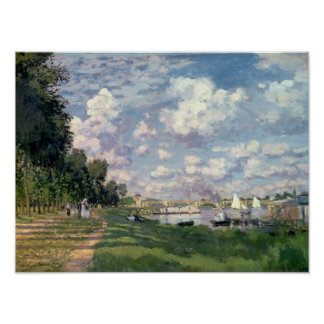 Claude Monet | The Marina at Argenteuil, 1872 Poster