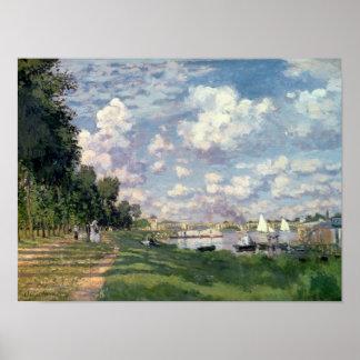Claude Monet | The Marina at Argenteuil, 1872 Poster