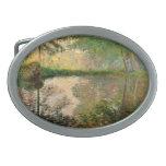 Claude Monet: The Pond at Montgeron Belt Buckle