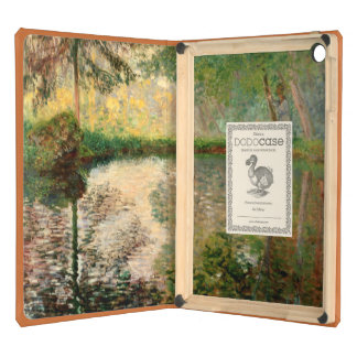 Claude Monet The Pond at Montgeron Cover For iPad Air