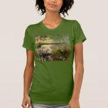 Claude Monet: The Pond at Montgeron T-shirts