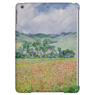 Claude Monet | The Poppy Field near Giverny, 1885 Cover For iPad Air