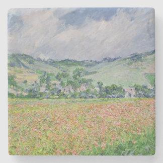 Claude Monet | The Poppy Field near Giverny, 1885 Stone Coaster