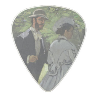 Claude Monet | The Promenaders, Bazille, Camille Acetal Guitar Pick