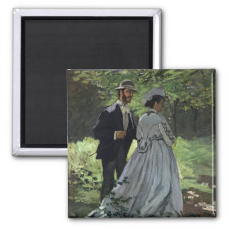 Claude Monet | The Promenaders, Bazille, Camille Magnet