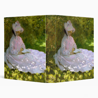Claude Monet: The Reader 3 Ring Binder