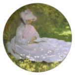 Claude Monet: The Reader Dinner Plate