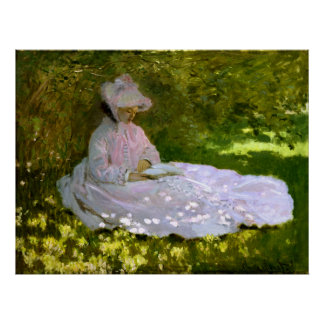Claude Monet: The Reader Poster