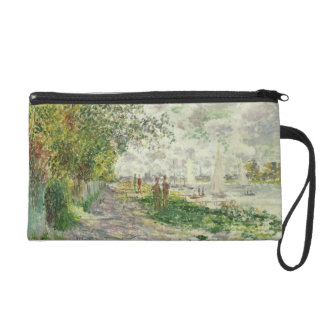 Claude Monet | The Riverbank at Gennevilliers Wristlet