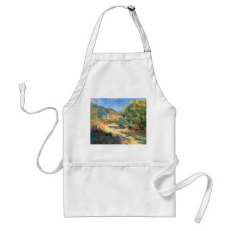 Claude Monet: The Road to Monte Carlo Adult Apron