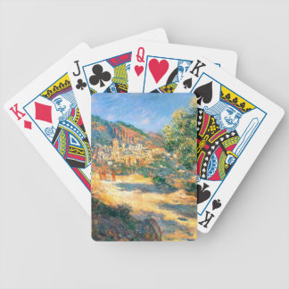 Claude Monet: The Road to Monte Carlo Bicycle Playing Cards