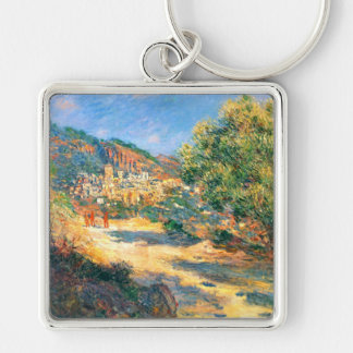 Claude Monet: The Road to Monte Carlo Keychain