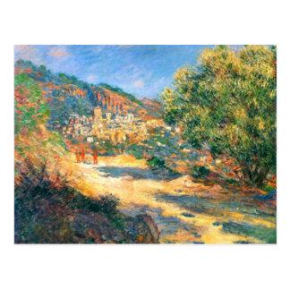 Claude Monet: The Road to Monte Carlo Postcard