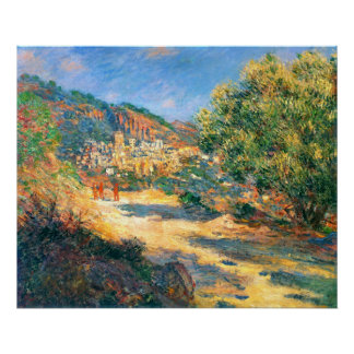 Claude Monet: The Road to Monte Carlo Poster