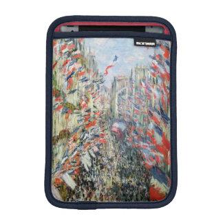 Claude Monet | The Rue Montorgueil, Paris iPad Mini Sleeve