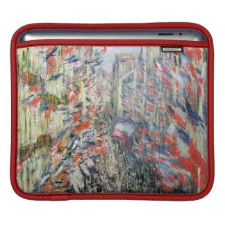 Claude Monet | The Rue Montorgueil, Paris iPad Sleeve