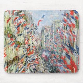 Claude Monet | The Rue Montorgueil, Paris Mouse Pad