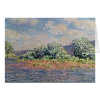 Claude Monet   The Seine at Port-Villez, c.1890 Card