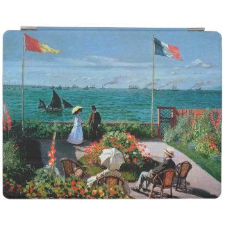 Claude Monet | The Terrace at Sainte-Adresse, 1867 iPad Smart Cover