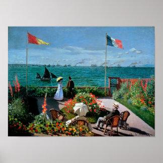 Claude Monet | The Terrace at Sainte-Adresse, 1867 Poster