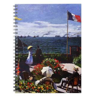 Claude Monet-The Terrace at Sainte-Adresse Notebook