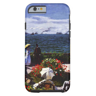 Claude Monet-The Terrace at Sainte-Adresse Tough iPhone 6 Case