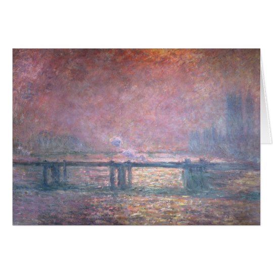 Claude Monet | The Thames at Charing Cross, 1903 Card