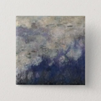 Claude Monet | The Waterlilies The Clouds, 1914-18 Button