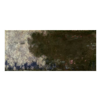 Claude Monet | The Waterlilies The Clouds, 1914-18 Poster