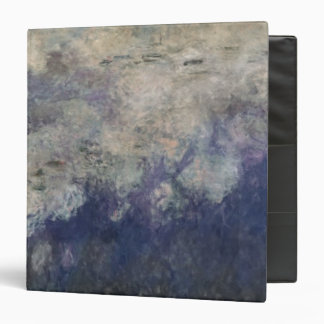 Claude Monet | The Waterlilies The Clouds 1915-26 3 Ring Binder