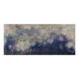 Claude Monet | The Waterlilies The Clouds 1915-26 Poster
