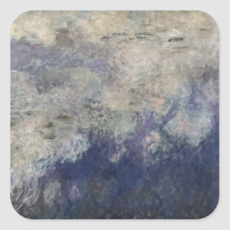 Claude Monet | The Waterlilies The Clouds 1915-26 Square Sticker