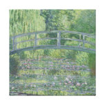 Claude Monet | The Waterlily Pond: Green Harmony Canvas Print