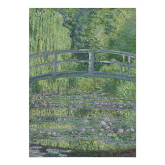 Claude Monet | The Waterlily Pond: Green Harmony Poster