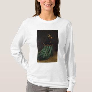 Claude Monet | The Woman in the Green Dress, 1866 T-Shirt