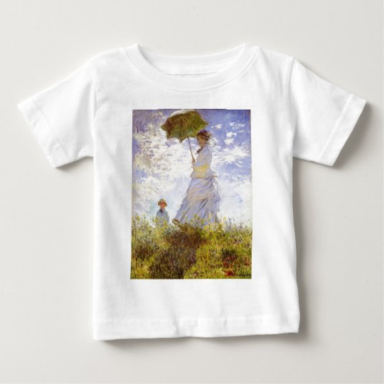 Claude Monet - The Woman With The Parasol Baby T-Shirt