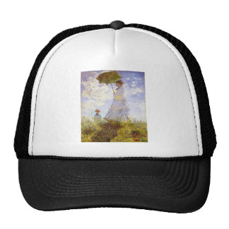 Claude Monet - The Woman With The Parasol Trucker Hat