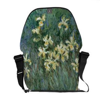 Claude Monet | The Yellow Irises Messenger Bag